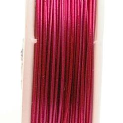 Wire Wire, fuchsia, 0.5 cm (10 mtr.)