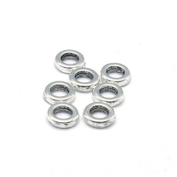Dichte ring, antique zilver, 5 mm (ca. 70 st.)
