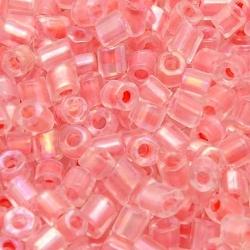 Rocailles, koraal, ca. 3 x 2 mm (50 gr.)