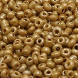 Rocailles, olijfgroen, ca. 2 mm (50 gr.)