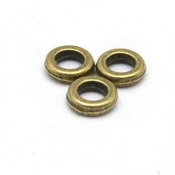 Dichte ring, antique goud, 5 mm (ca. 70 st.)