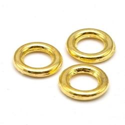 Dichte ring, goud, 8 mm (ca. 37 stuks)