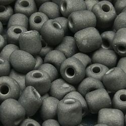 Rocailles, muisgrijs, 5 mm (50 gr.)