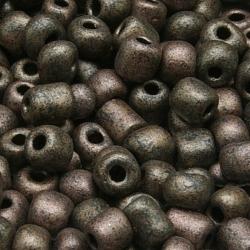 Rocailles, zilvergrijs, ca. 5 mm (50 gr.)