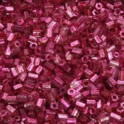 Rocailles, roze, metallic, ca. 2,5 mm (50 gr.)