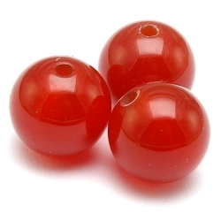 Red Agate kraal rond 10 mm (10 st.)