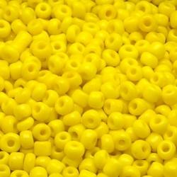 Rocailles geel 2 mm (50 gr.)