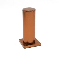 Armband display PU leer brons 15cm (1 st.)