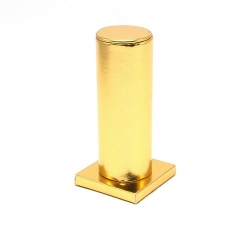 Armband display PU leer goud metallic 15cm (1 st.)