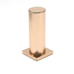 Armband display PU leer roségoud metallic 15cm (1 st.)