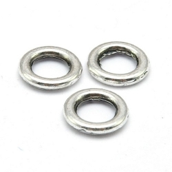 Ring dicht antique zilver 10 mm (ca. 57 stuks)