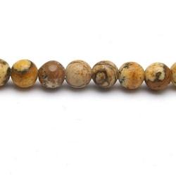 Picture Jaspis kraal rond 4 mm (20 st.)