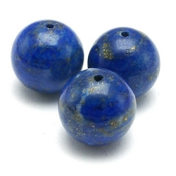 Lapis Lazuli kraal rond 12 mm (5 st.)