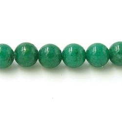 Gekleurd steen kraal groen 4mm (20 st.)