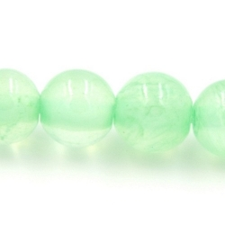 Gekleurd steen kraal groen 6mm (10 st.)